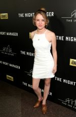 LAURA SLADE WIGGINS at 'The Night Manager' Premiere in Los Angeles 040/05/2016