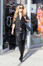 LAUREN HUTTON-FRASER Out Shopping in West Hollywood 03/10/2016
