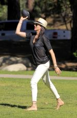 LAUREN SILVERMAN at Cold Water Park in Beverly Hills 04/22/2016