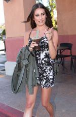LEA MICHELE Out and About in Indio 04/17/2016