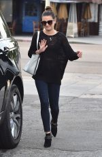 LEA MICHELE Out and About in Los Angeles 04/05/2016