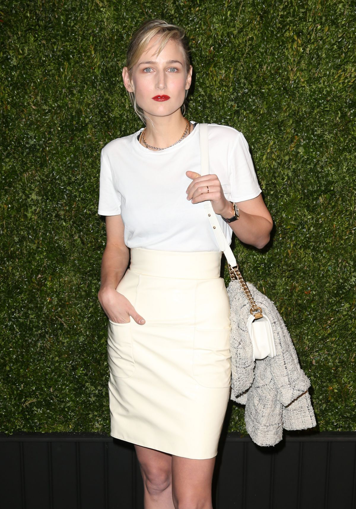 LEELEE SOBIESKI at 11th Annual Chanel Tribeca Film Festival Artists Dinner in New York 04/18/2016