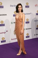LENA MEYER-LANDRUT at Echo Awards in Berlin 04/07/2016