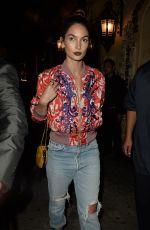 LILY ALDRIDGE at El Compadre in Los Angeles 04/06/2016