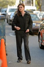 LINDA EVANGELISTA Out and About in West Village 04/17/2016