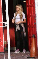 LINDSAY ARNOL at DWTS Studio in Hollywood 04/13/2016