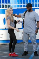 LINDSAY ARNOLD at DWTS Studio in Hollywood 04/24/2016