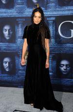 LISA BONET at 'Game of Thrones: Season 6' Premiere in Hollywood 04/10/2016