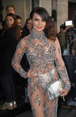 LIZZIE CUNDY at Asian Awards in London 04/08/2016