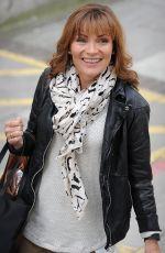 LORRAINE KELLY Leaves ITV Studios in London 04/19/2016