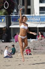LOUISA LYTTON and CAROLINE PEARCE in Bikinis on the Beach in Santa Monica 04/28/2016