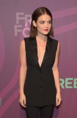LUCY HALE at 2016 ABC Freeform Upfront in New York 04/07/2016