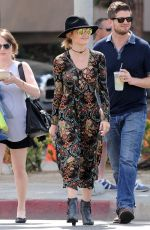 LUCY HALE Out and About in Los Angeles 03/27/2016