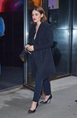 LUCY HALE Out in New York 04/07/2016