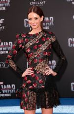 LYDIA HEARST at Captain America: Civil War Premiere in Los Angeles 04/12/2016
