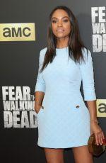 LYNDIE GREENWOOD at 'Fear the Walking Dead' Season 2 Premiere in Los Angeles 03/29/2016