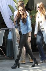 MADISON PETTIS Out and Abouit in Los Angeles 04/01/2016