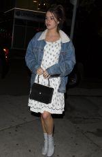 MAIA MITCHEL at Nice Guy in Los Angeles 04/06/2016