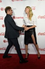MAIKA MONROE at Cinemacon Big Acreen Achievement Awards in Las Vegas 04/14/2016