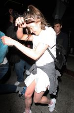 MAISIE WILLIAMS at Nice Guy in West Hollywood 04/27/2016