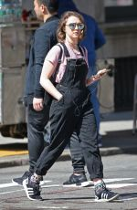 MAISIE WILLIAMS Out Shopping in New York 04/16/2016
