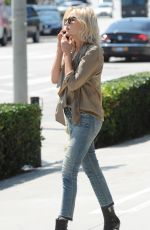 MALIN AKERMAN Out Shopping in Los Angeles 04/11/2016