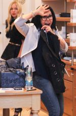 MARIA CONCHITA ALONSO Out Shopping in Beverly Hills 03/30/2016