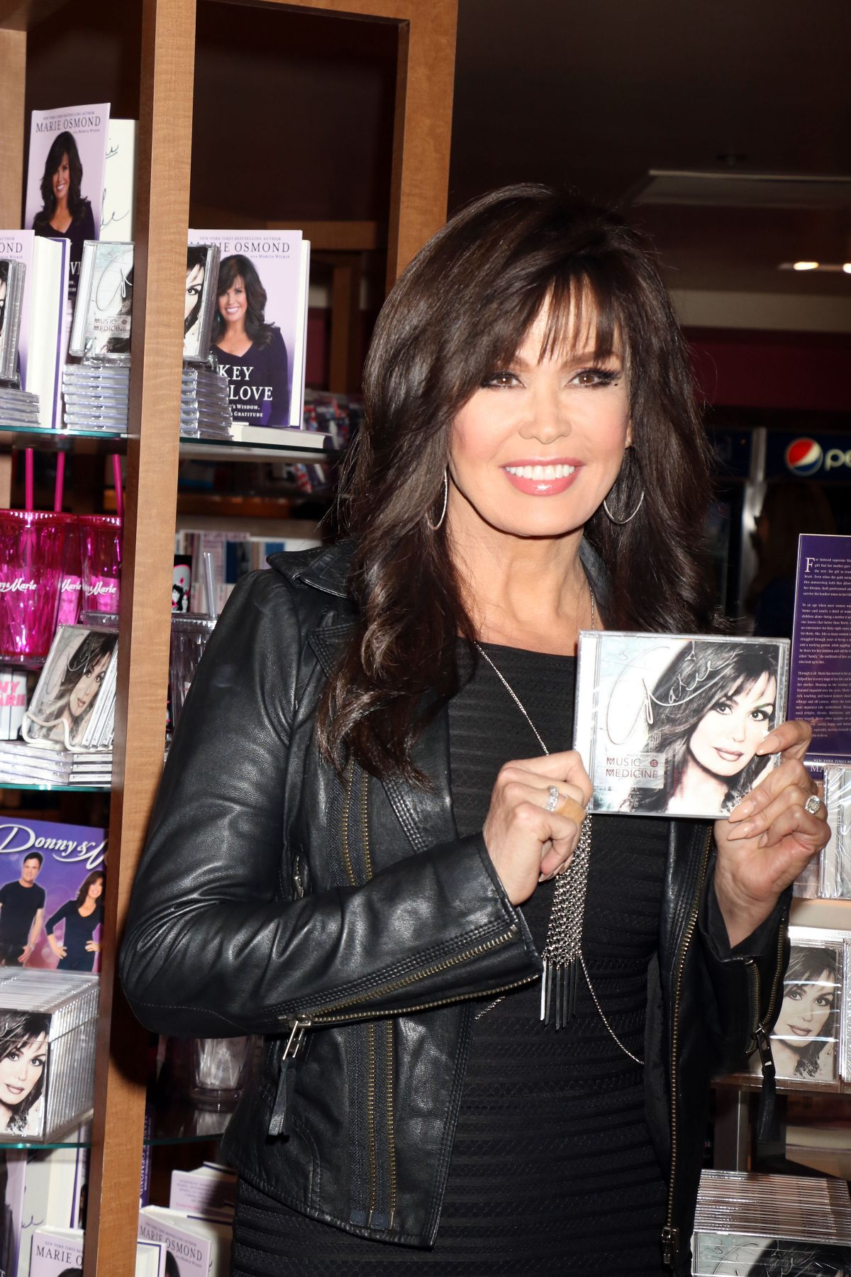 MARIE OSMOND Signs Copies of Her New CD in Las Vegas 04/09/2016