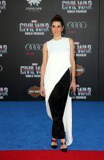 MARISA TOMEI at Captain America: Civil War Premiere in Los Angeles 04/12/2016