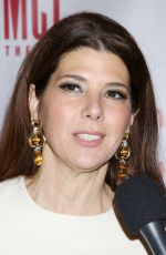 MARISA TOMEI at miscast Gala at The Hammerstein Ballroom in New York 04/04/2016