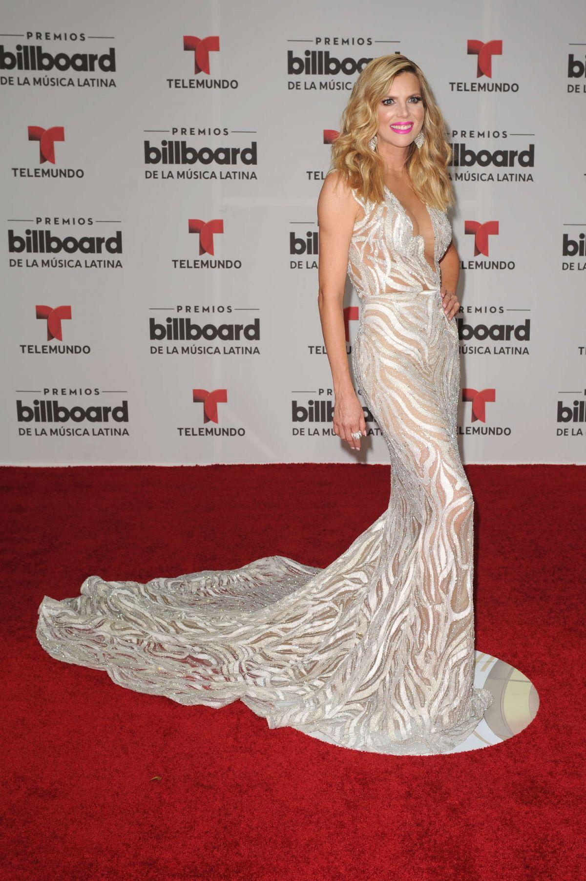 MARITZA RODRIGUEZ at Billboard Latin Music Awards in Miami 04/28/2016