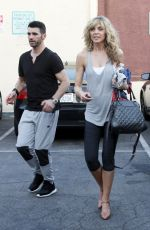MARLA MAPLES at DWTS Rehersal in Hollywood 03/17/2016