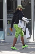 MARY J. BLIGE Out and About in Beverly Hills 04/25/2016