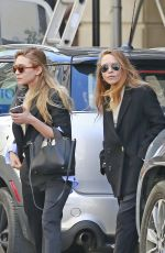 MARY-KAYE and ASHLEY OLSEN Out in New York 04/19/2016