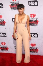 MEAGAN GOOD at iHeartRadio Music Awards in Los Angeles 04/03/2016