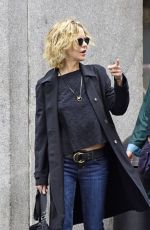 MEG RYAN Out and About in New York 04/23/2016