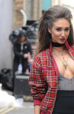 MEGAN MCKENNA on the Set of