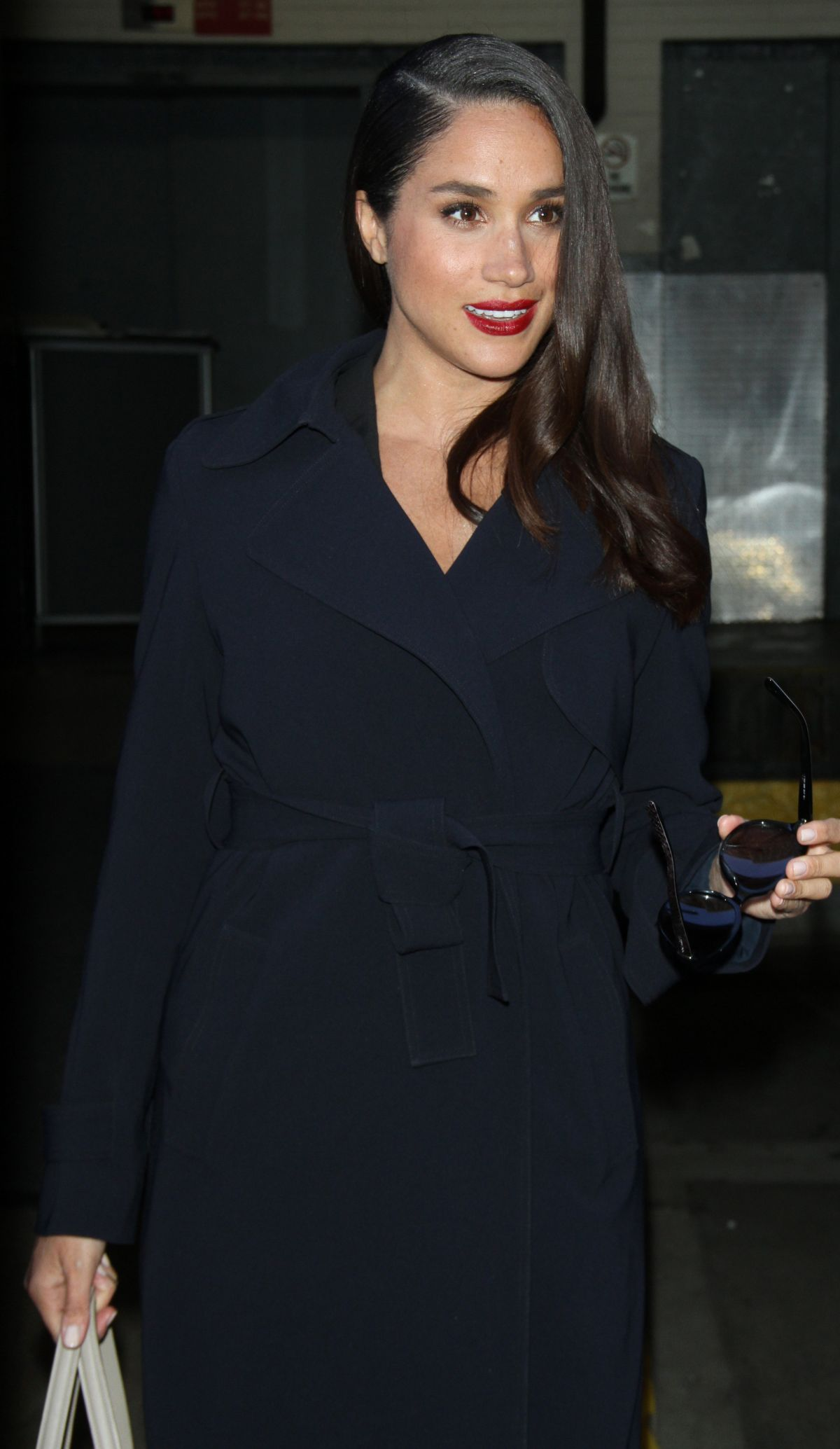 MEGHAN MARKLE at AOL Studio in New York 03/17/2016 - HawtCelebs ...