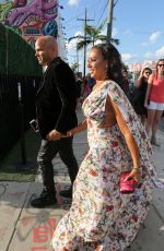 MELANIE BROWN Arrives at Isabela Rangel and David Grutman