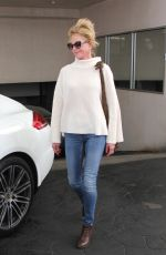 MELANIE GRIFFITH Leaves Ebaldi in Beverly Hills 03/31/2016