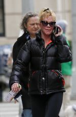 MELANIE GRIFFITH Out in New York 03/15/2016