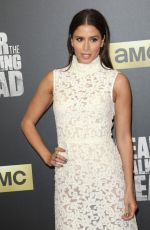 MERCEDES MASON at 'Fear the Walking Dead' Season 2 Premiere in Los Angeles 03/29/2016
