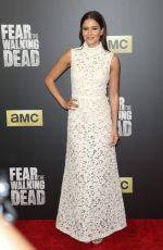MERCEDES MASON at 'Fear the Walking Dead' Season 2 Premiere in Los Angeles 03/29/2016