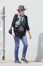 MICHELLE PFEIFFER Out and About in Santa Monica 03/21/2016
