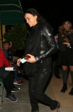 MICHELLE RODRIGUEZ at Guns n' Roses Concert at The Troubadour in West Hollywood 04/01/2016
