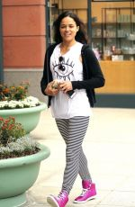 MICHELLE RODRIGUEZ at Pressed Juicery in Beverly Hills 04/0/7/2016