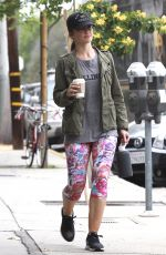 MIKA KELLY Leaves a Gym in Los Angeles 04/07/2016