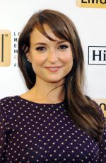 MILANA VAYNTRUB at 3rd Annual Location Managers Guild International Awards in Los Angeles 04/23/2016