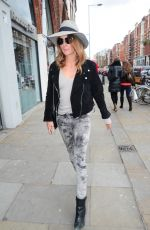 MILLIE MACKINTOSH Out and About in Chelsea 04/23/2016