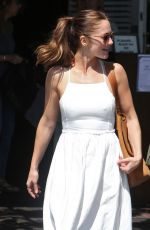 MINKA KELLY at Mauros Cafe in West Hollywood 03/25/2016